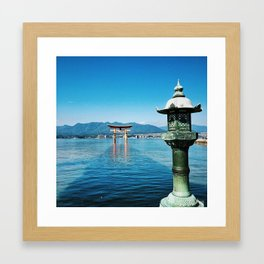 Miyajima's Floating Gate (Japan) Framed Art Print
