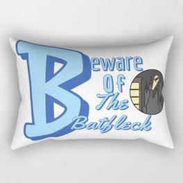 the batfleck Rectangular Pillow