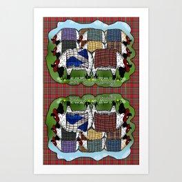 "See ""Ewe"" Jimmy Art Print"