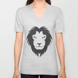 Lion from the North Unisex V-Neck