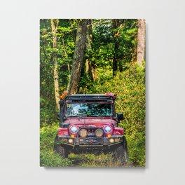 Crawler Metal Print