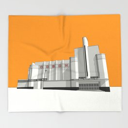 ODEON Woolwich Throw Blanket