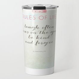 Rules of Life Travel Mug