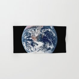 Apollo 17 - Iconic Blue Marble Photograph Hand & Bath Towel