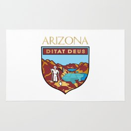 Arizona's seal Rug