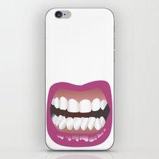 Bouche iPhone Skin