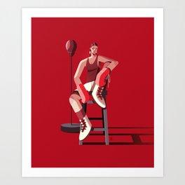 Boxing Art Print