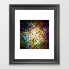 severely heightened objects emancipation Framed Art Print