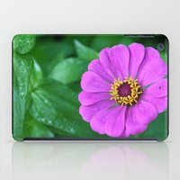 rileigh smirl iPad Cases featuring Bright Flower by Rileigh Smirl
