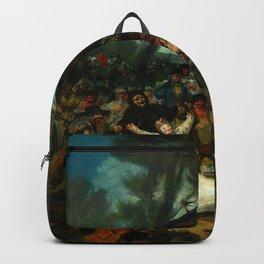 """Francisco Goya """"The Burial of the Sardine (El entierro de la sardina)"""" Backpack"""