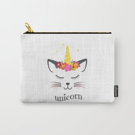 The peaceful unicorn Carry-All Pouch
