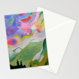First Snow On The Coquihalla Stationery Cards