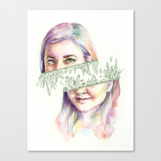 I Grow Crystals Canvas Print
