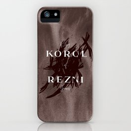 King Of Scars iPhone Case