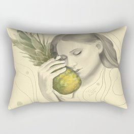 Baby & Pineapple Rectangular Pillow