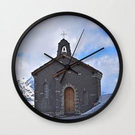 Chapel on the mountain Wall Clock