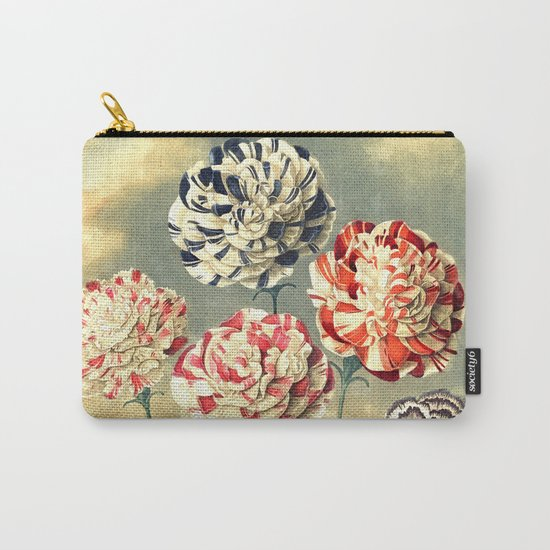 Carnations : New Illustration Of The Sexual System Carry-All Pouch