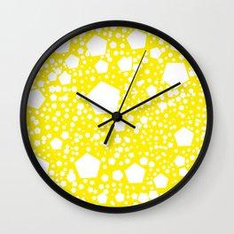 """Kalinka. """"Aureolin"""" color Wall Clock"""