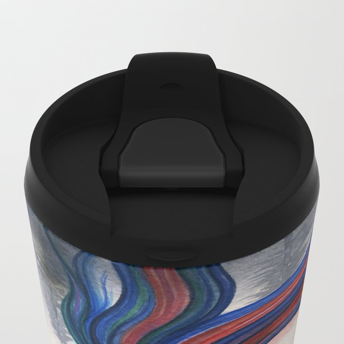 Residue from Another Place Metal Travel Mug