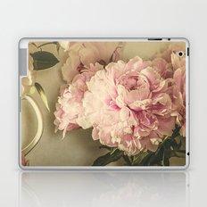 Painted Peonies -- Botanical Still Life Laptop & iPad Skin