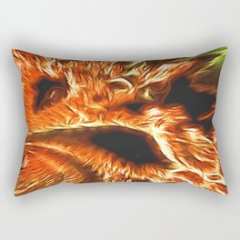 Faces of Hell Rectangular Pillow