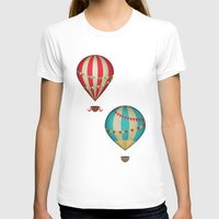 hot air balloon T-shirts featuring Hot Air Balloon by Zen and Chic