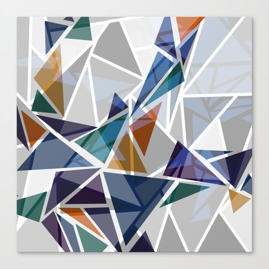 Cracked II Canvas Print