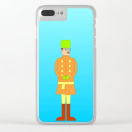 The Russian (II) Clear iPhone Case