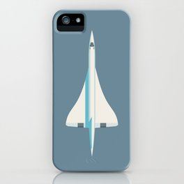 Concorde Supersonic Jet Airliner - Slate iPhone Case