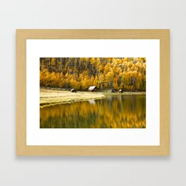 Colorado scenic routes Framed Art Print