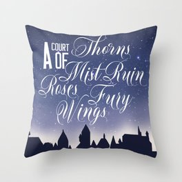 The Courts Throw Pillow