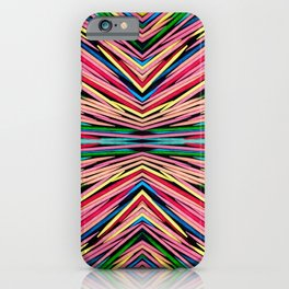 Toothpick Fusion Abstract Pattern Landscape iPhone Case