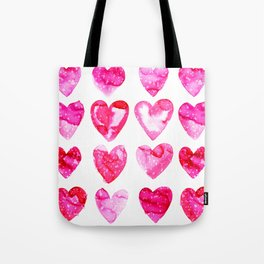 Heart Speckle Tote Bag