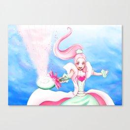 Magical anime girl Canvas Print