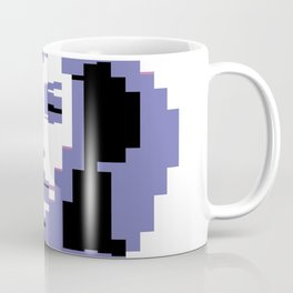 8 Bit Portrait of a Girl Coffee Mug