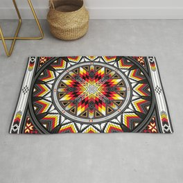 Sacred Places Red Rug