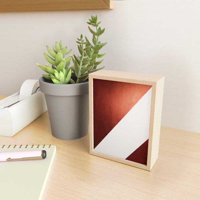 Copper Framed Mini Art Print