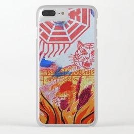 Burnin' Paper 3 Clear iPhone Case