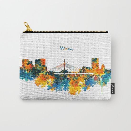 Winnipeg Skyline Carry-All Pouch