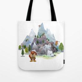 Bear troop Tote Bag