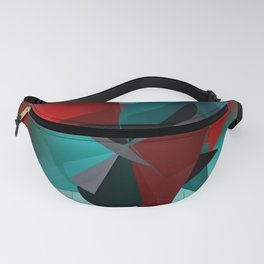 3 colors for a polynomial - landscape format Fanny Pack