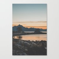 furry Canvas Prints featuring Furry Creek  by Luke Gram