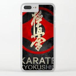 Kyokushin Karate Clear iPhone Case