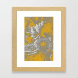 Petal Eclipse Framed Art Print