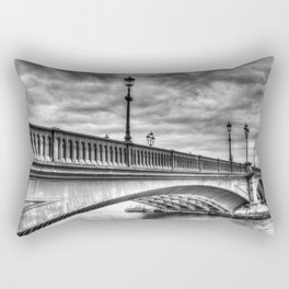 Battersea Bridge london Rectangular Pillow