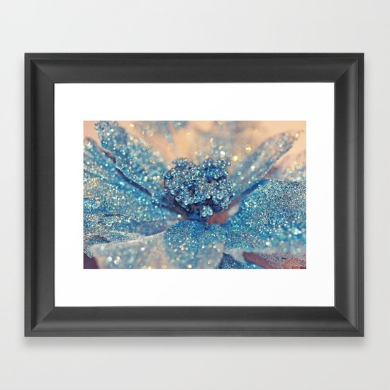 Her Winter... Framed Art Print