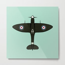 Spitfire Metal Print
