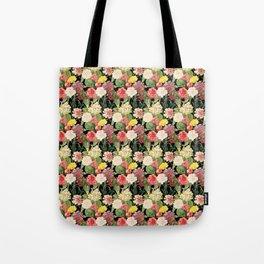 Vintage Floral Pattern | No. 1A Tote Bag