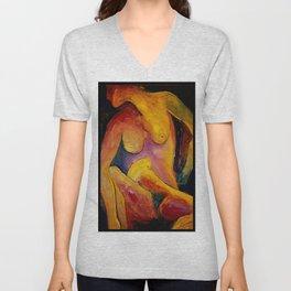 Twisted Torso - Self Portrait Unisex V-Neck