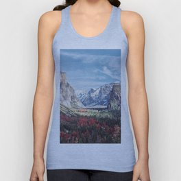 Tunnel View Yosemite Valley Unisex Tank Top